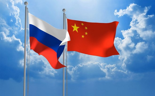 Tiongkok dan Rusia menjunjung tinggi hubungan kerjasama militer - ảnh 1