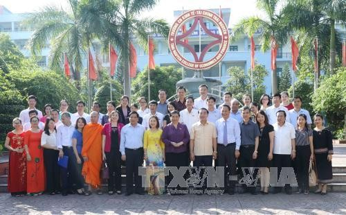Wakil Ketua MN Vietnam, Tong Thi Phong melakukan kunjungan kerja di provinsi Thai Nguyen - ảnh 1
