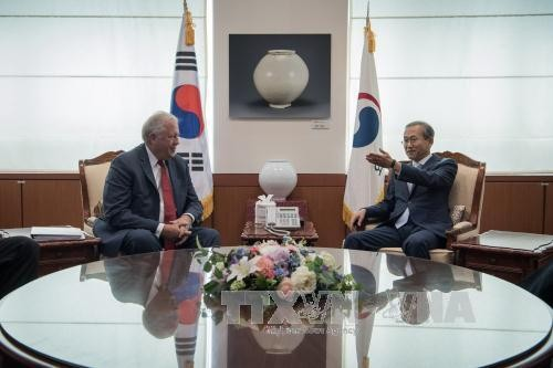 Republik Korea dan AS mengusahakan satu solusi dasar bagi masalah nuklir RDRK - ảnh 1
