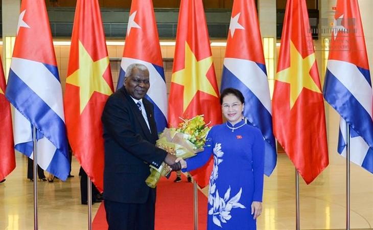 Ketua Parlemen Republik Kuba mengakhiri dengan baik kunjungan resmi di Vietnam - ảnh 1