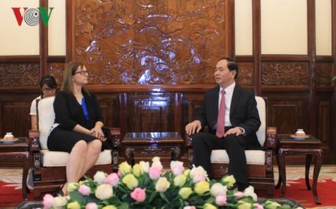 Vietnam senantiasa menghargai pendorongan hubungan persahabatan dan kerjasama di banyak segi dengan Israel - ảnh 1