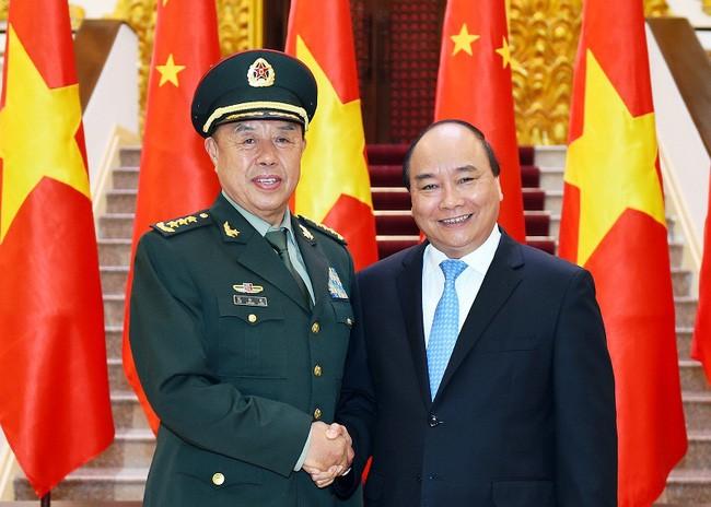 PM Vietnam, Nguyen Xuan Phuc menerima Wakil Ketua Komisi Militer Sentral PKT - ảnh 1
