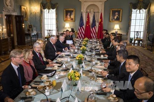 Tiongkok dan AS melakukan dialog keamanan-diplomatik - ảnh 1