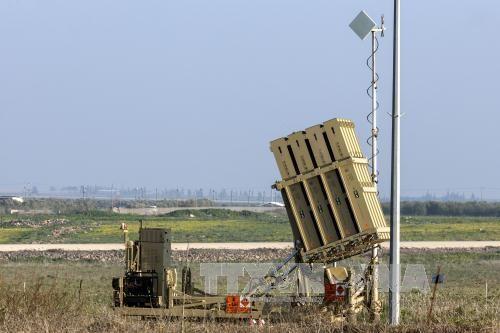 Israel membalas pemberon dongan meriam  dari Suriah - ảnh 1