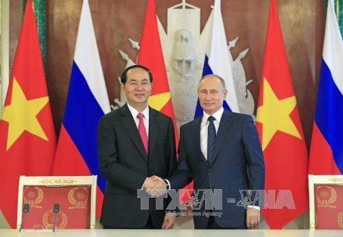 Hubungan antara Vietnam dengan Republik Belarus,Federasi Rusia semakin berkembang secara komprehensif - ảnh 1
