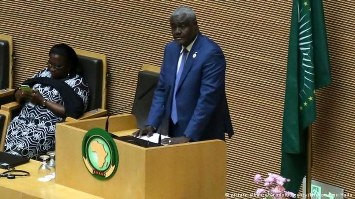 Uni Afrika mendukung pendorongan proses perundingan antarfaksi di Libia - ảnh 1