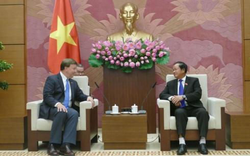 Wakil Ketua MN Vietnam, Do Ba Ty menerima delegasi Komisi Militer DPR AS - ảnh 1