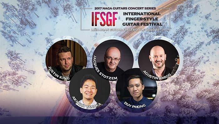 Vietnam dan Tiongkok penyelenggara bersama Festival Guitar fingerstyle internasional - ảnh 1