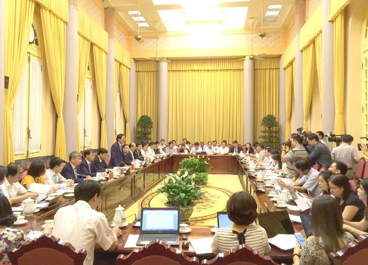 Kantor Kepresidenan Vietnam mengumumkan 12 UU yang telah diesahkan oleh MN Vietnam - ảnh 1