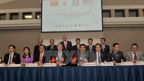 Negara bagian Virginia, AS menyambut baik kedatangan daerah-daerah Vietnam untuk mencaritahu kesempatan kerjasama - ảnh 1