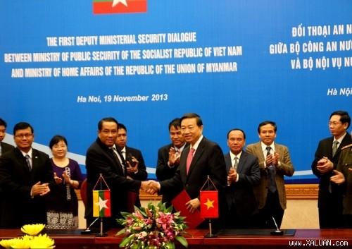 Memperkuat kerjasama keamanan antara Vietnam dan Myanmar - ảnh 1