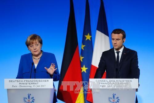 Kanselir Jeman ingin memperhebat hubungan dengan Perancis - ảnh 1
