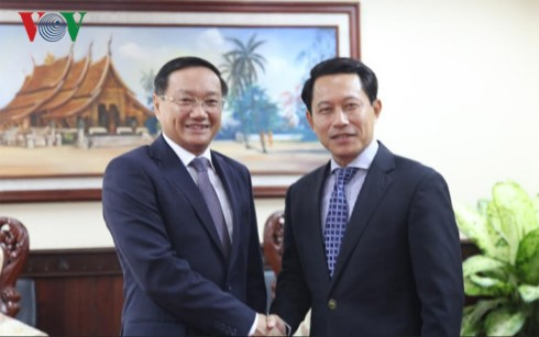 Tilgram ucapan selamat ultah ke-55 tahun hubungan Vietnam-Laos - ảnh 1