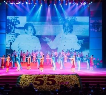 Rapat umum khidmat memperingati ultah ke-55 Hari penggalangan hubungan diplomatik dan ultah ke-40 Hari penandatanganan Traktat Persahabatan dan Kerjasama Vietnam-Laos - ảnh 1