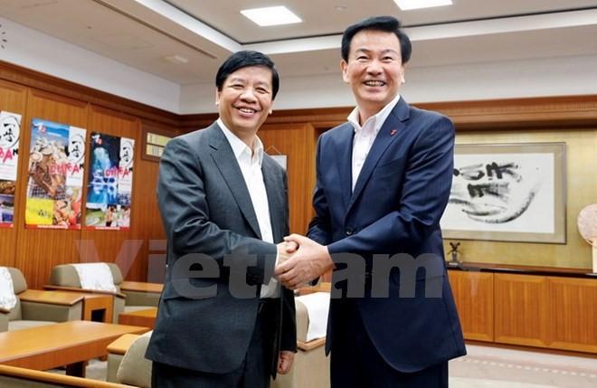 Jepang dan Vietnam mendorong temu pergaulan kerjasama antar-daerah - ảnh 1