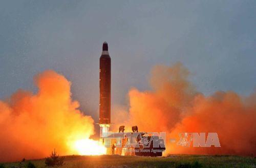 Pejabat AS memperingatkan kemungkinan RDRK melakukan uji coba rudal pada beberapa hari mendatang - ảnh 1