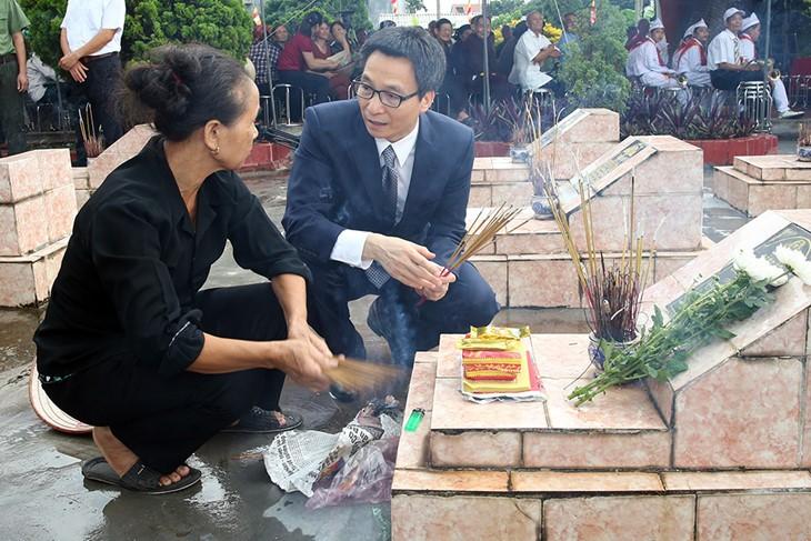 Peringatan ultah ke-70 Hari Prajurit Disabilitas dan Martir Vietnam (27/7) - ảnh 1