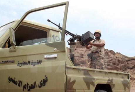 Masalah antiterorisme: Tentara Yaman memburu Al-Qaeda di Shabwa - ảnh 1