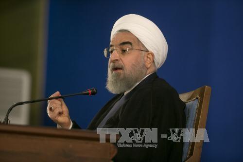 Presiden  Hasan Rohani: Iran akan memberikan balasan  setuntas terhadap semua pelanggaran terhadap permufakatan nuklir - ảnh 1