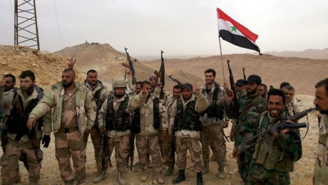 Tentara Suriah maju mendekati Kotamadya terakhir IS di Raqqa - ảnh 1