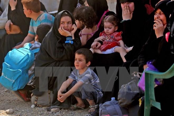 Masalah antiterorisme: Menyelamatkan ratusan penduduk sipil Suriah - ảnh 1