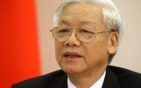 Sekjen KS PKV Nguyen Phu Trong akan melakukan kunjungan resmi ke Republik Indonesia dan kunjungan kenegaraan ke  Republik Federasi Myanmar - ảnh 1