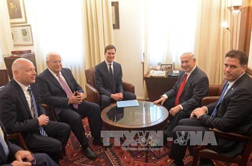 Negara-negara Arab menyambut upaya AS dalam proses perdamaian di Timur Tengah - ảnh 1