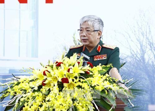 Vietnam meningkatkan kualitas pelatihan kepada pasukan yang ikut serta dalam Pasukan Penjaga Perdamaian PBB - ảnh 1