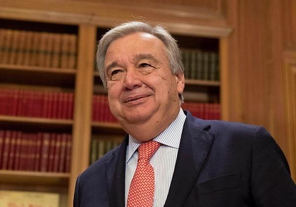 Sekjen PBB, Antonio Guterres untuk pertama kalinya mengunjungi Israel - ảnh 1
