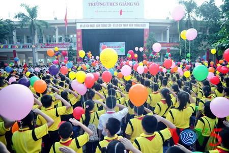 Presiden Vietnam Tran Dai Quang mengirim surat ucapan selamat sehubungan dengan tahun ajar baru 2017-2018 - ảnh 1
