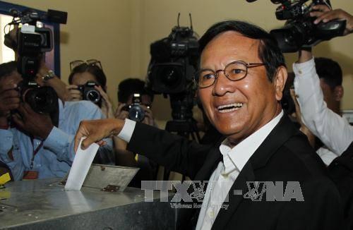 Kamboja: Ketua Partai Oposisi CNRP ditangkap dengan tuduhan mengkhianati bangsa - ảnh 1