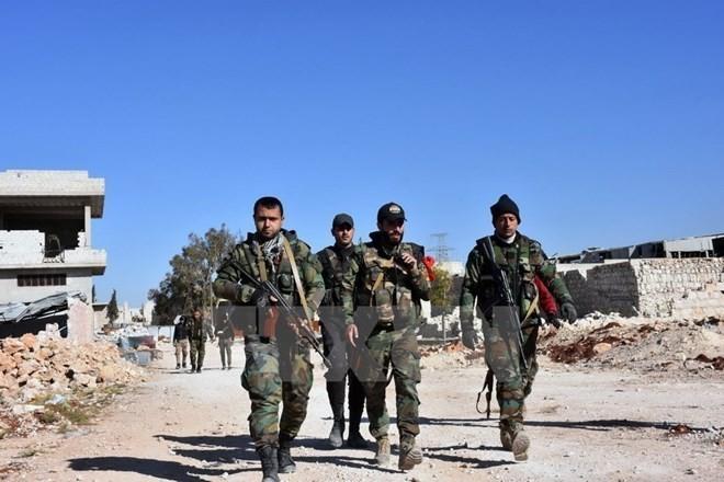 Masalah antiterrorisme: Tentara Suriah menilai perkembangan di Deir al-Zour sebagai titik balik yang penting - ảnh 1