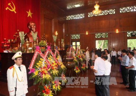 Provinsi Nghe An memperingati ultah ke-48 wafatnya Presiden Ho Chi Minh - ảnh 1