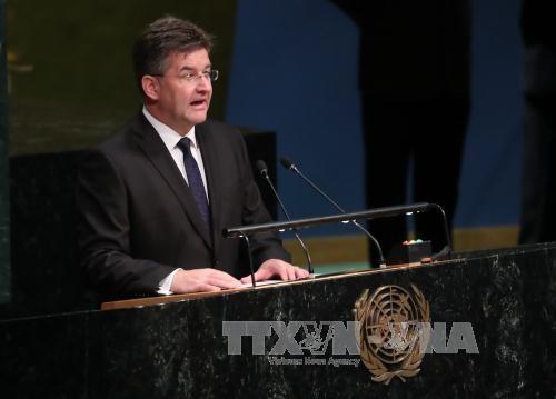 Pembukaan Persidangan  ke-72 MU PBB - ảnh 1