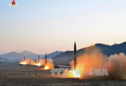 Peluncuran rudal RDRK: DK PBB mengadakan pertemuan darurat - ảnh 1