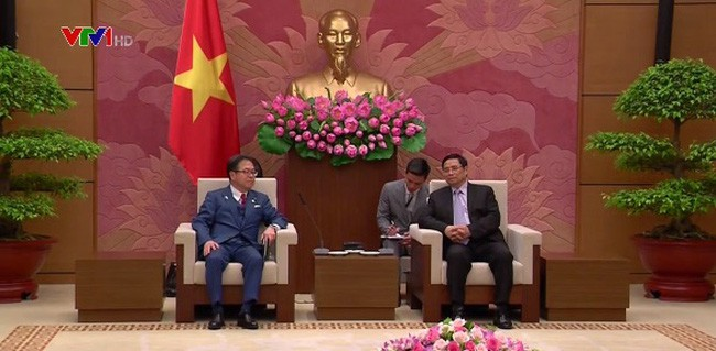 Memperkuat lebih lanjut lagi hubungan yang baik antara Vietnam-Jepang - ảnh 1