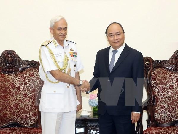 Hubungan antara Tentara Vietnam-India sedang berkembang baik - ảnh 1