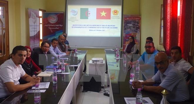 Promosi dagang dan investasi Vietnam-Algeria di Biskra - ảnh 1