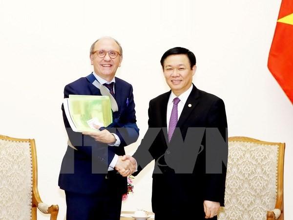 Mendukung badan-badan usaha Belgia melakukan investasi di Vietnam - ảnh 1