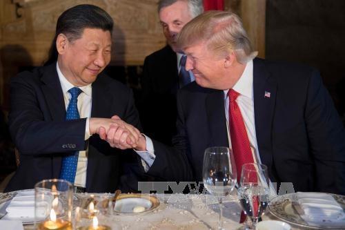 Presiden AS memulai kunjungan resmi di Tiongkok - ảnh 1
