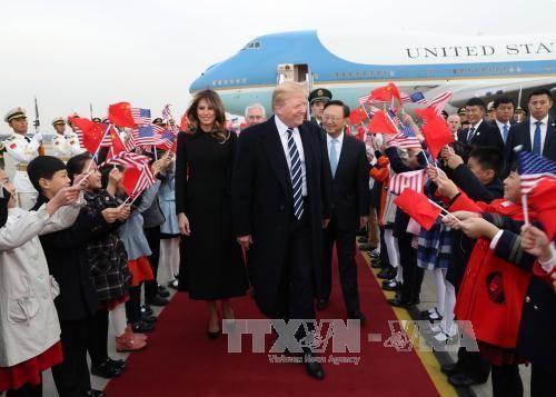 Pemimpin Tiongkok dan AS memulai pembicaraan - ảnh 1