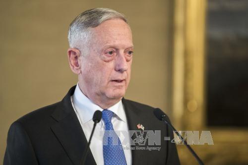 Menhan AS menekankan solusi diplomatik bagi masalah RDRK - ảnh 1