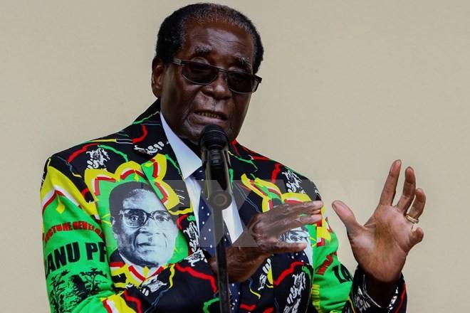 Presiden Zimbabwe meminta supaya mengadakan sidang Kabinet - ảnh 1