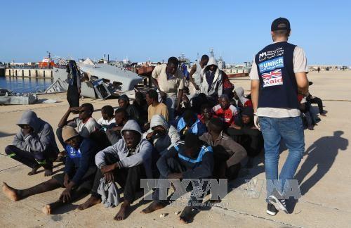 Masalah migran: Uni Eropa berkomitmen menangani krisis perdagangan budak di Libia - ảnh 1