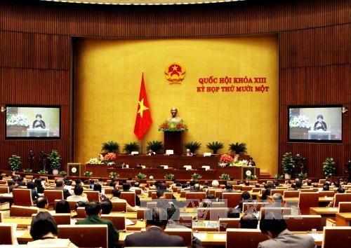 越南国会常委会向国会呈交国会副主席和国会常委会委员提名名单 - ảnh 1