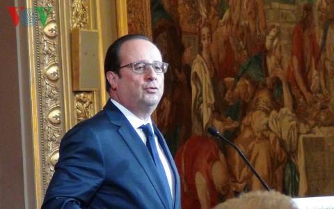 法国总统奥朗德对埃及进行正式访问 - ảnh 1