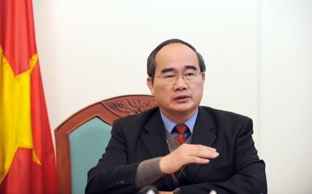 阮善仁与农业与农村发展部举行工作座谈 - ảnh 1