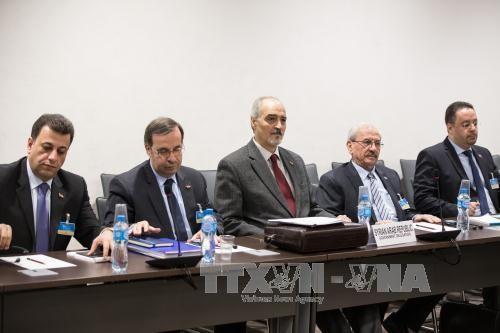 叙利亚政府谈判代表团离开日内瓦 - ảnh 1