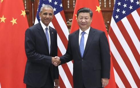中国国家主席习近平在二十国集团领导人杭州峰会前夕与美国总统奥巴马会谈 - ảnh 1