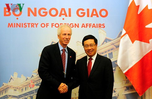 越南和加拿大加强多个领域合作 - ảnh 1